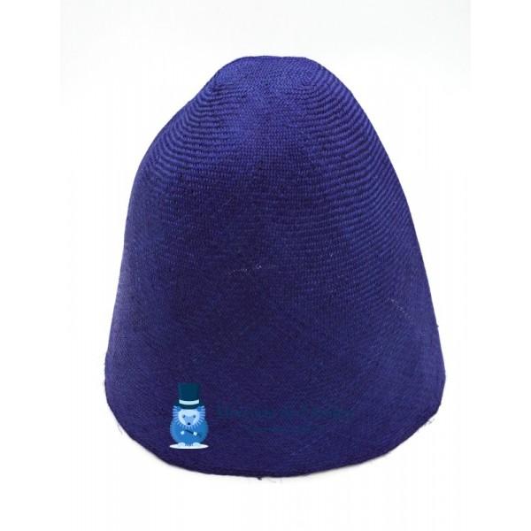 Cône en sisal - Bleu Roi