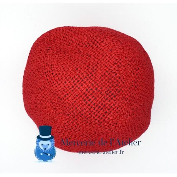 Cône au crochet - Rouge Cerise