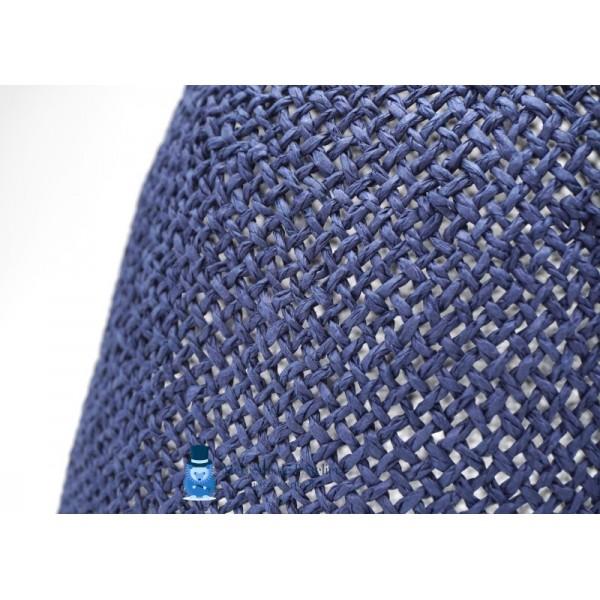 Cône au crochet - Bleu Marine Clair