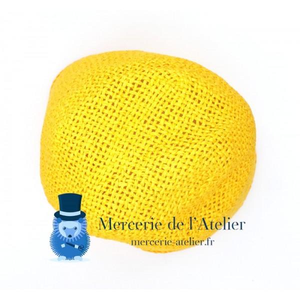 Cône au crochet - Jaune Bouton d'Or