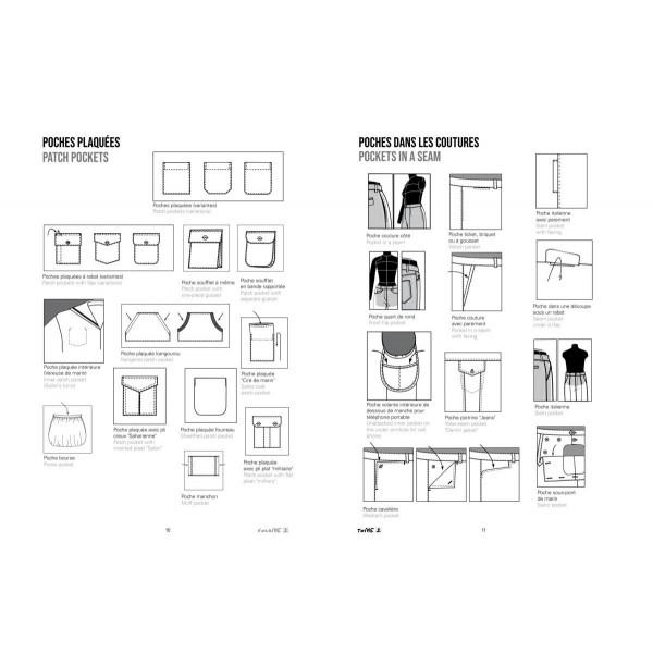 Détails de mode à la loupe Tome 2 - Esmod