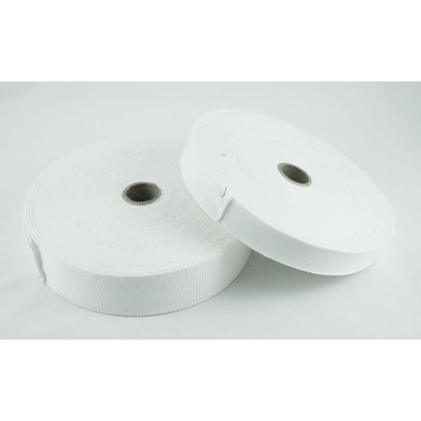 Gros grain - Blanc - coton