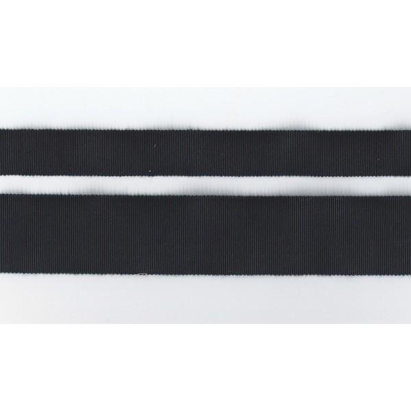 Gros grain - Bleu foncé Navy - coton