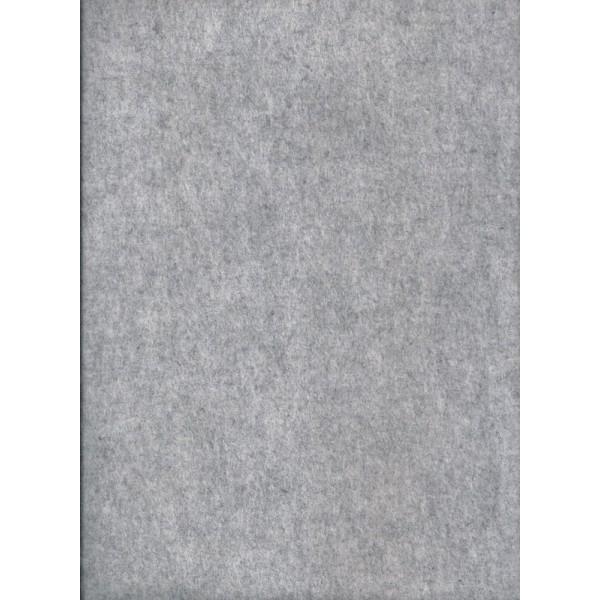 Feutre de col - Gris clair - 30x45cm - Laine