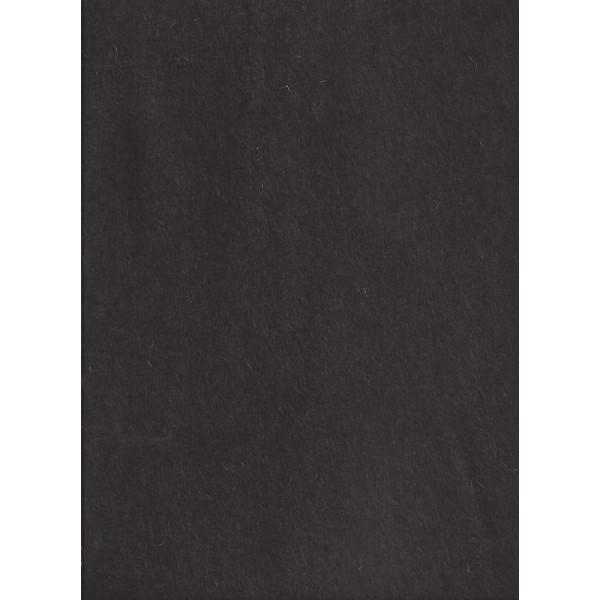 Feutre de col - Marron - 30x45cm - Laine