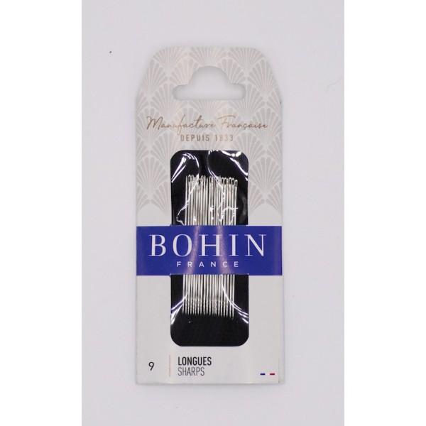 Aiguille à coudre longue n°9 - Bohin