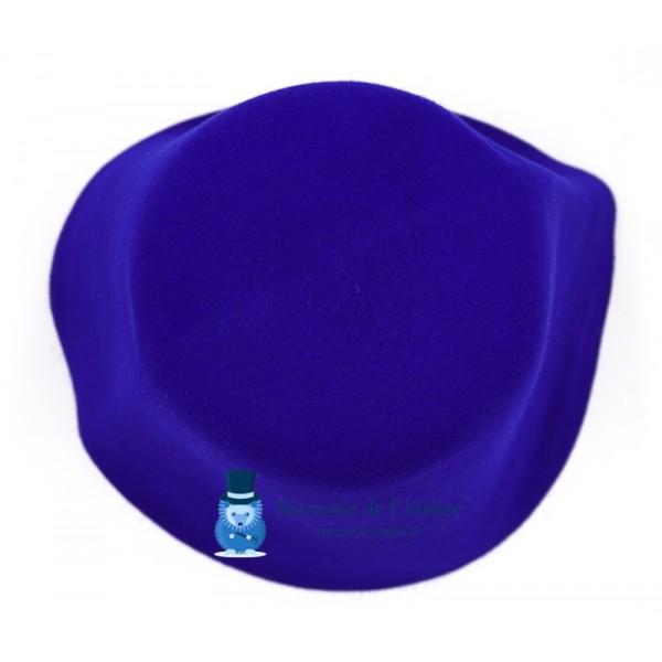 Cône feutre de lapin - Bleu Roi