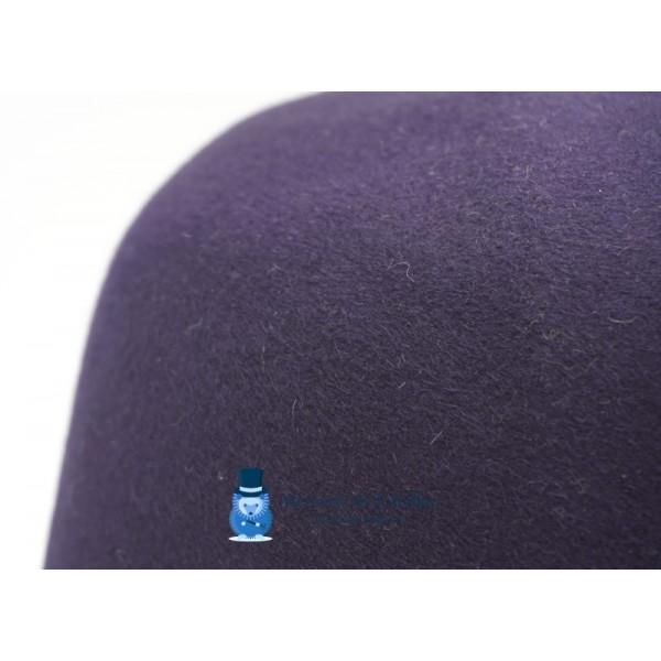 Cône feutre de lapin - Bleu Marine Foncé
