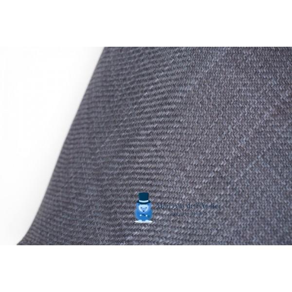 Cône en sisal - Bleu Ardoise